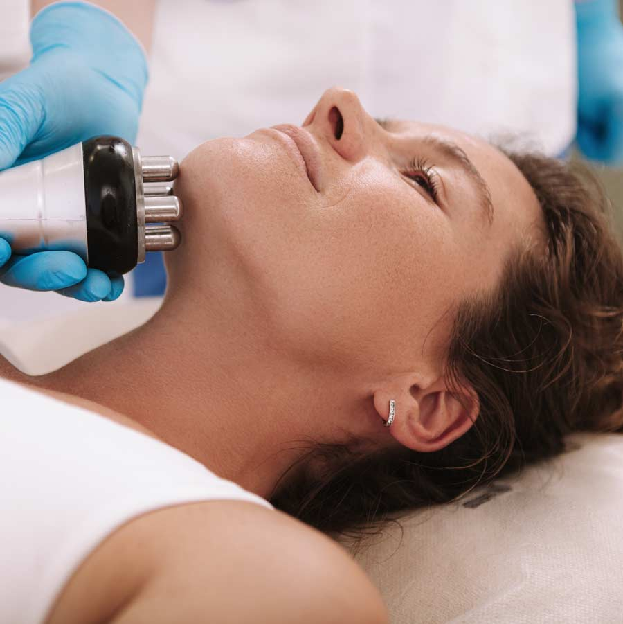 Skin tightening and RF treatment